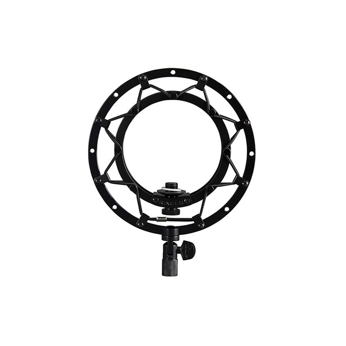 Blue  Ringer Suspension Mount for Snowball Microphone - Black