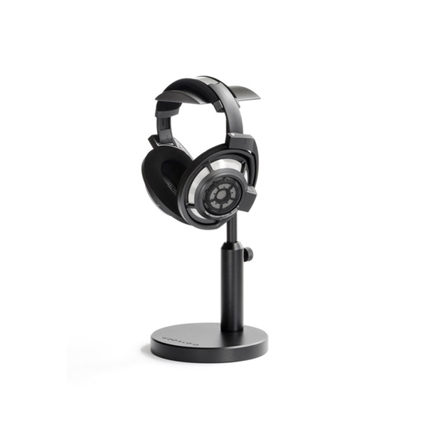 Woo Audio HPS-T Double Aluminium Headphone Stand - Black  2