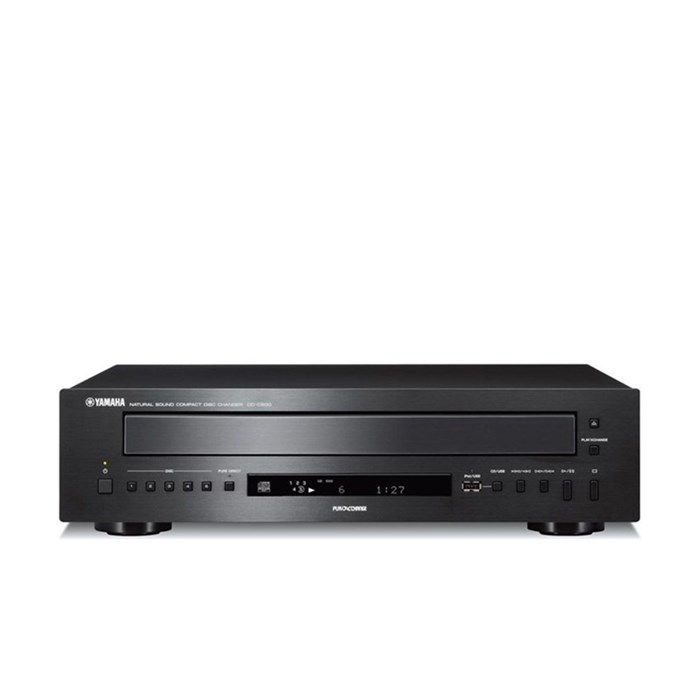 Yamaha CD-C600 Five-disc CD Player - Black