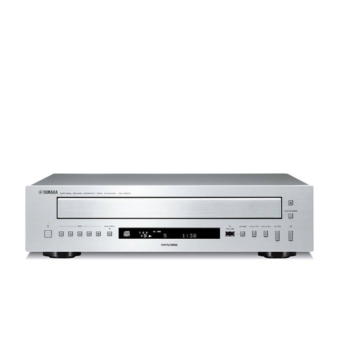 Yamaha CD-C600 Five-disc CD Player - Silver