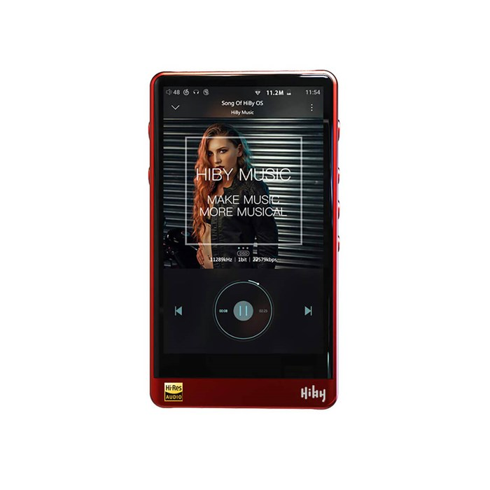 HiBY R6 Android-based Digital Audio Player - Red