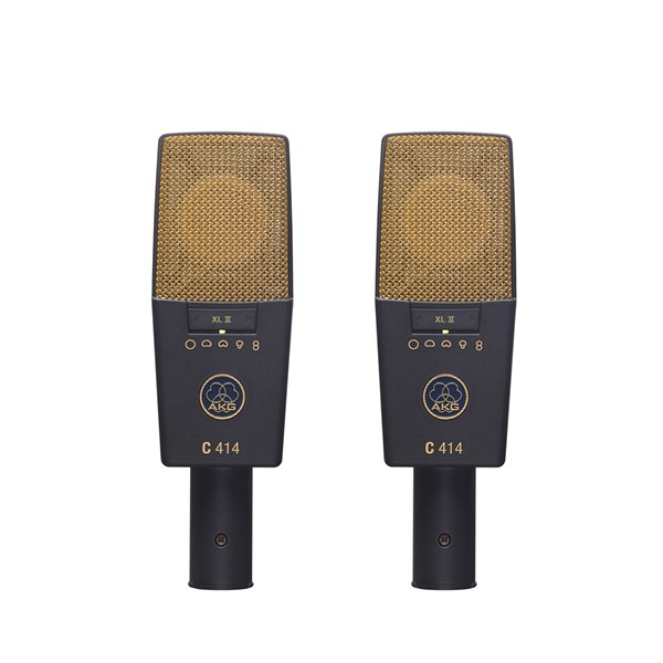 AKG C414 XLII Microphone - Matched Pair