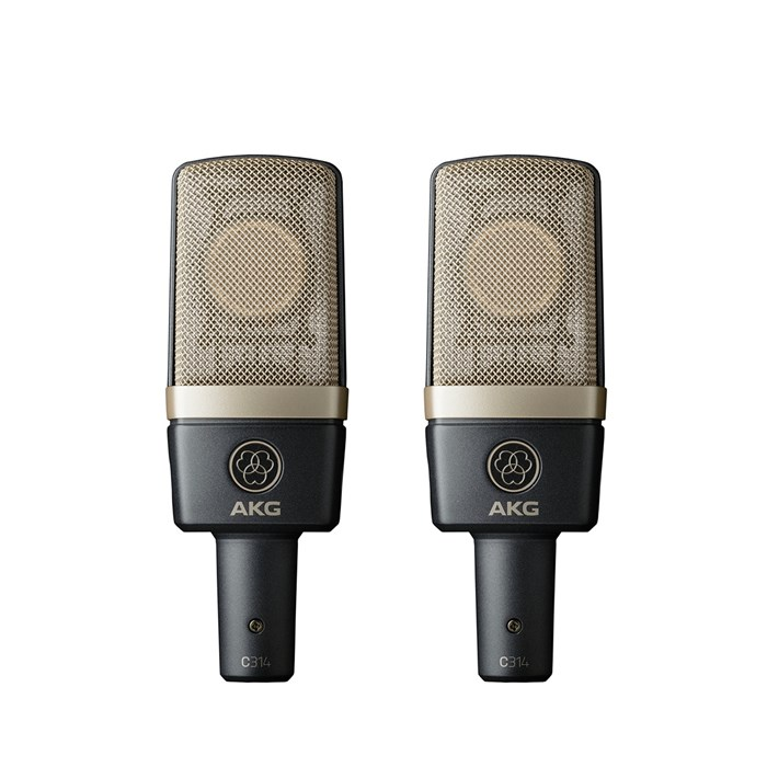 AKG C314 Microphone - Matched Pair