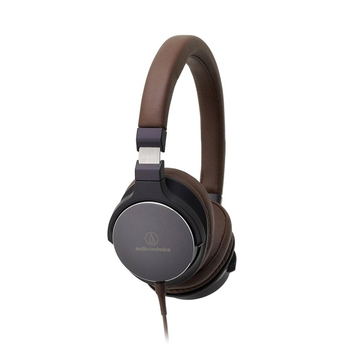Audio Technica ATH-SR5 Headphones - Brown