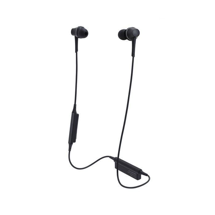Audio Technica ATH-CKR75BT Bluetooth Earphones - Black