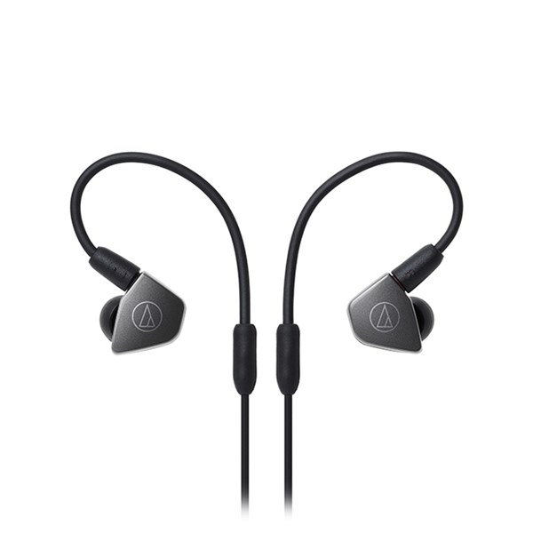 Audio Technica ATH-LS70iS In-Ear Headphones with In-line Mic & Control