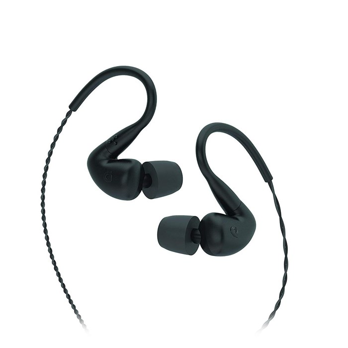 Audiofly AF120 In-Ear Headphones - Roadie Black