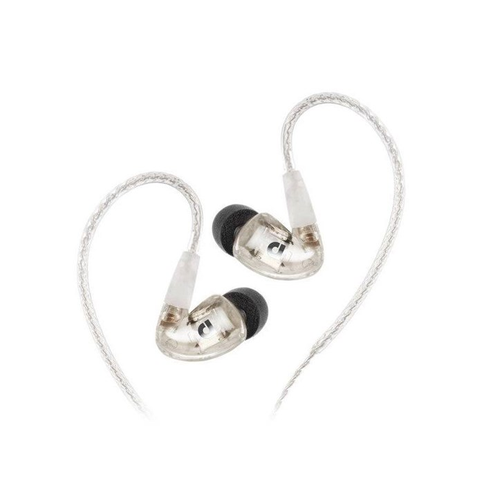 Audiofly AF1120 MK2 In-ear Headphones - Clear