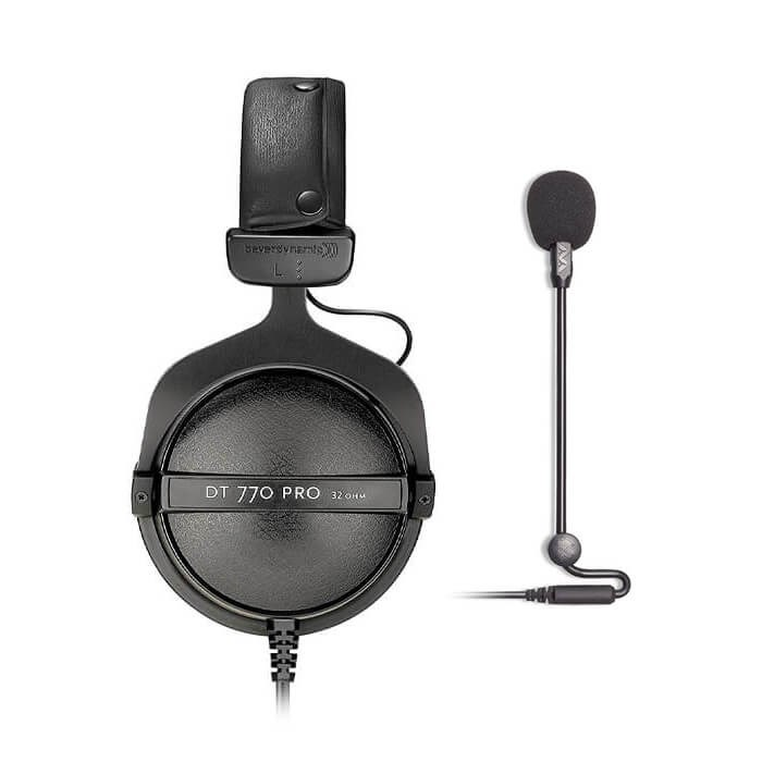 Beyerdynamic DT770 Pro 32 Ohm and Antlion Audio Modmic Uni Combo