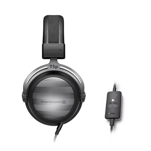 Beyerdynamic T5p Gen. 2 Closed Back Headphones + Impacto Cable with DAC and Amplifier Combo  1