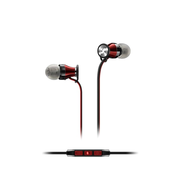 Sennheiser Momentum 2.0i Earphones - Black/Red