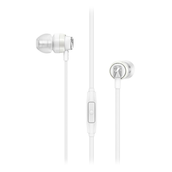 Sennheiser CX 300S In-Ear Earphones with Mic - White