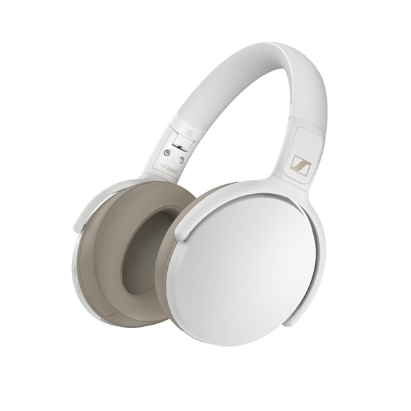 Sennheiser HD 350BT Bluetooth Headphones - White  4