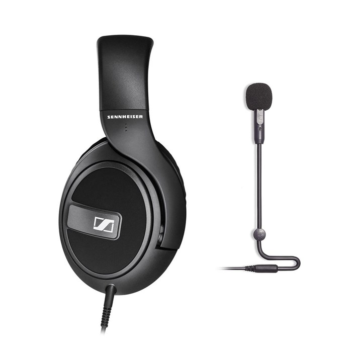 Sennheiser Sennheiser HD569 Headphones and Antlion Audio ModMic USB Microphone