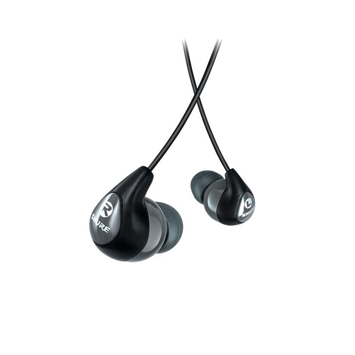 Shure SE112 Grey Sound Isolating In-ear Headphones