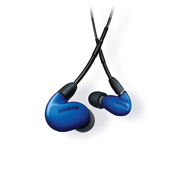 Shure SE846 Quad Driver Sound Isolating Bluetooth Earphones - Blue