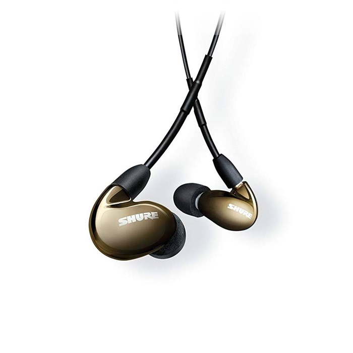Shure SE846 Quad Driver Sound Isolating Bluetooth Earphones - Bronze