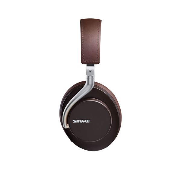 Shure AONIC 50 Wireless Noise Cancelling Headphones - Brown