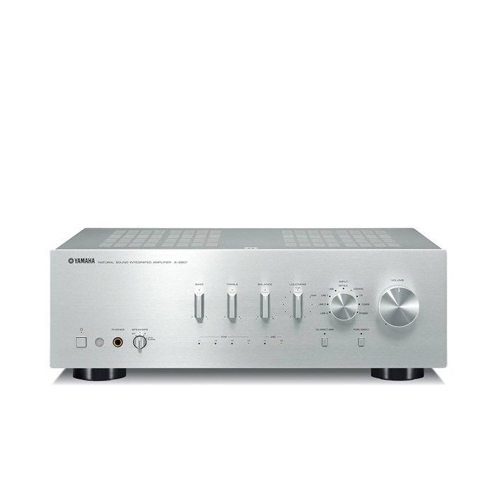 Yamaha A-S801 Stereo Amplifier - Silver