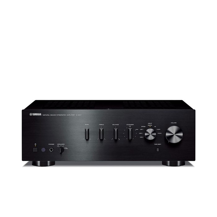 Yamaha A-S301 Stereo Amplifier - Black