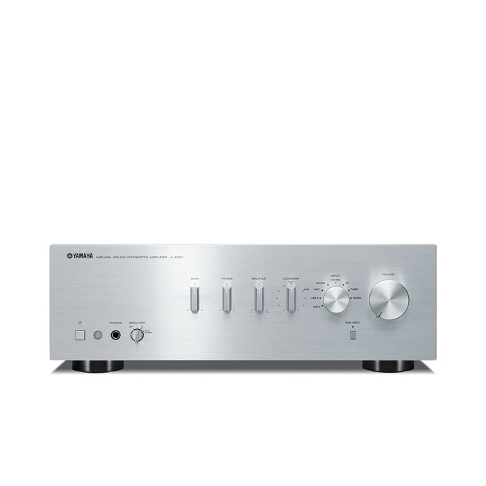Yamaha A-S301 Stereo Amplifier - Silver