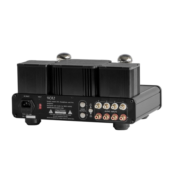 Woo Audio WA2 Headphone Amplifier - Black  2