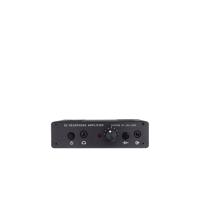 JDS Labs Objective2+ODAC Rev. B Headphone Amplifier and USB DAC - Black