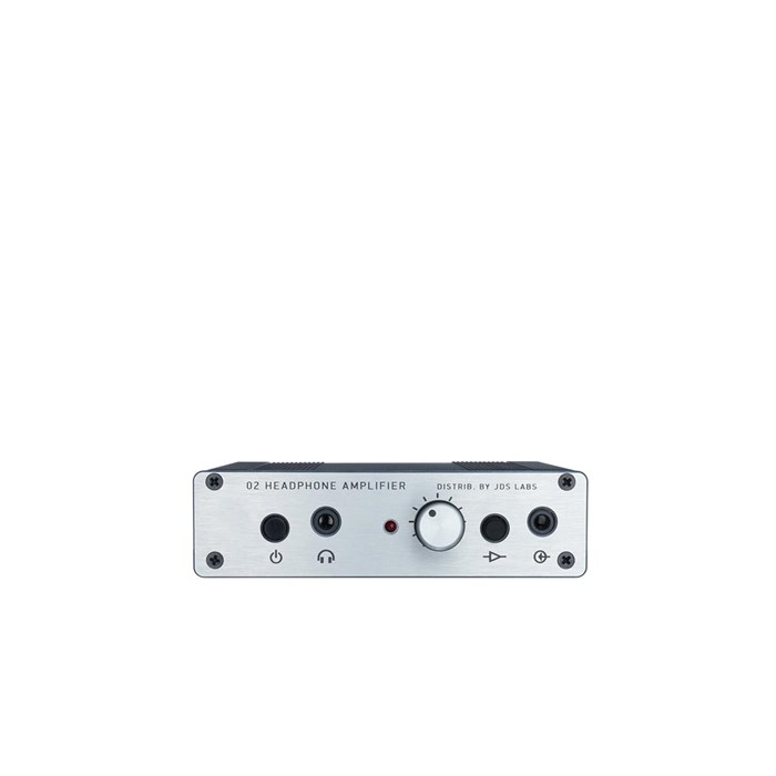 JDS Labs Objective2+ODAC Rev. B Headphone Amplifier and USB DAC - Silver