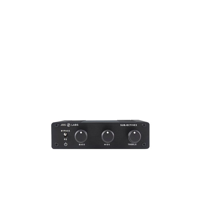 JDS Labs Subjective3 3-band Equaliser - Black