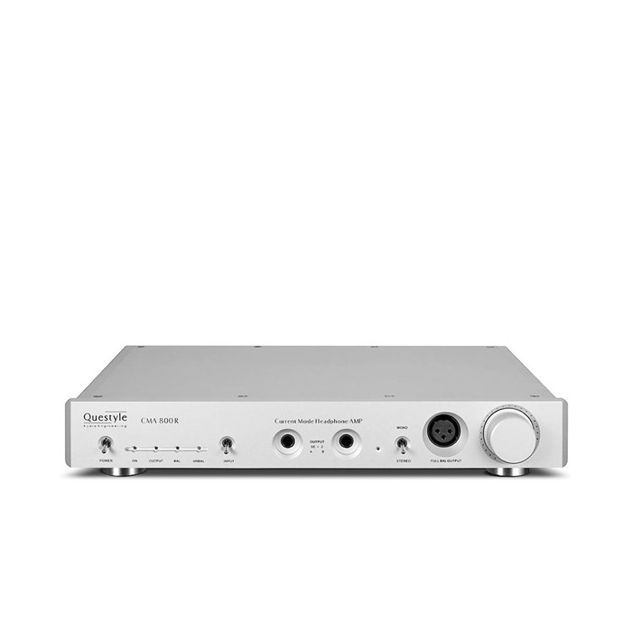 Questyle CMA800R Headphone Amplifier - Silver