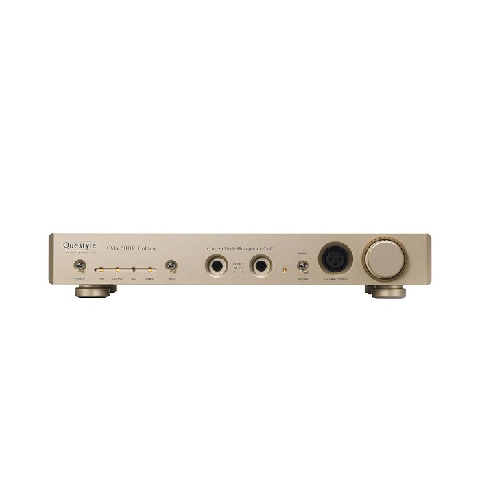 Questyle CMA800R Golden Headphone Amplifier - Gold