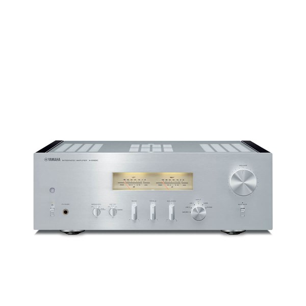Yamaha A-S1200 Premium integrated amplifier / 18000uF caps / MM + MC Phono - Silver