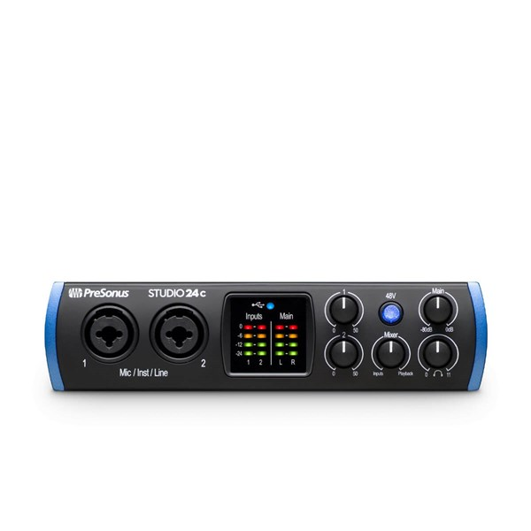 PreSonus Studio 24c Audio Interface - pr_285813