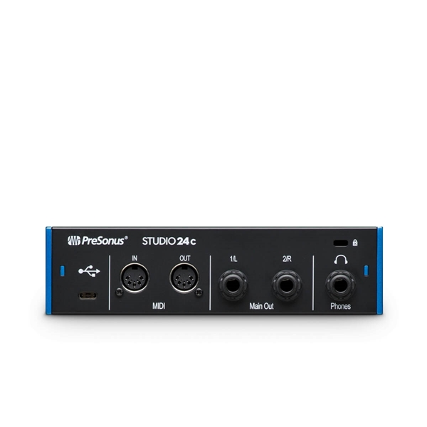 PreSonus Studio 24c Audio Interface  2