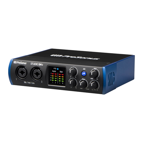 PreSonus Studio 24c Audio Interface  3