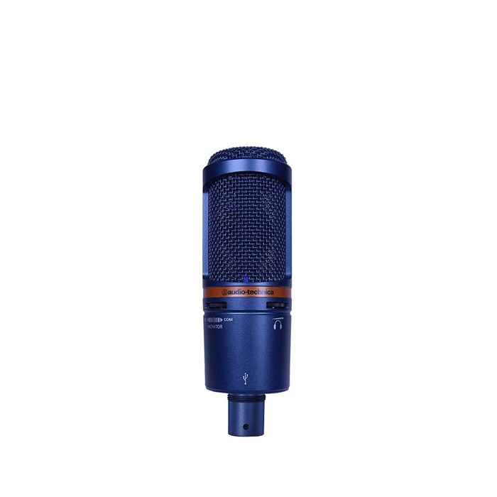 Audio Technica  AT2020-USB+BL USB Microphone - Blue