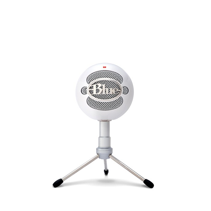 Blue Snowball iCE USB Microphone - Gloss White