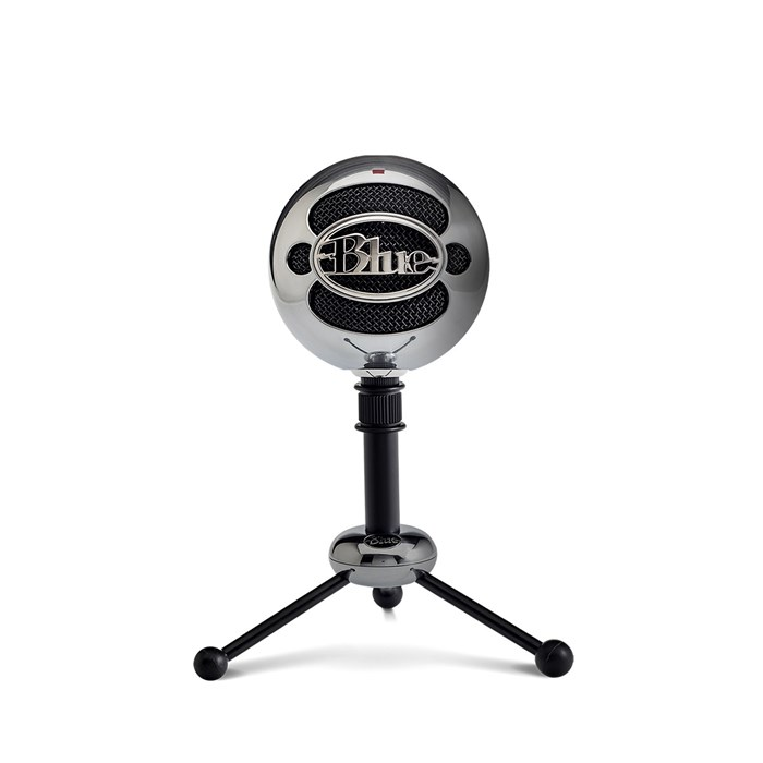 Blue Snowball USB Microphone - Brushed Aluminium