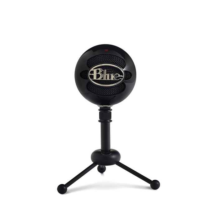 Blue  Snowball USB Microphone - Gloss Black