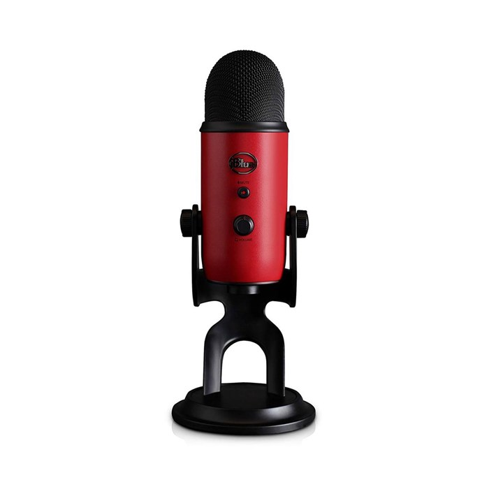 Blue Microphones Yeti USB Microphone - Satin Red