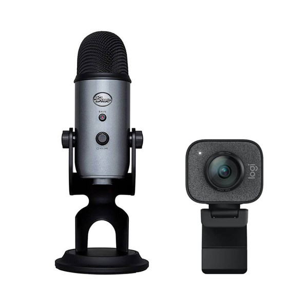 Logitech StreamCam + Yeti Bundle - Graphite / Slate