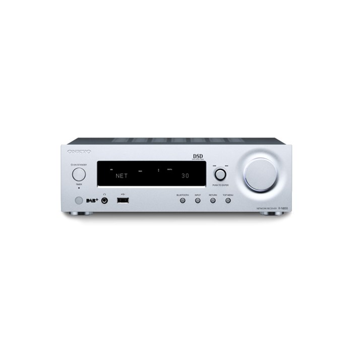 Onkyo R-N855 Stereo Network Receiver - Silver