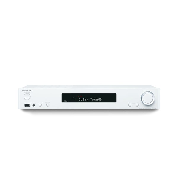 Onkyo TX-L50 5.1 Channel Slim Network AV Receiver - White