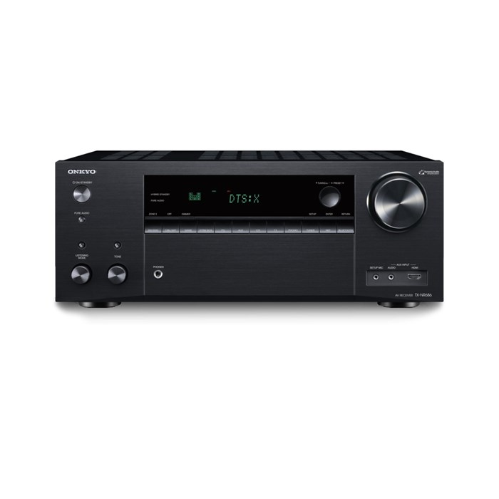 Onkyo TX-NR686B 7.2 Channel AV Receiver - Black