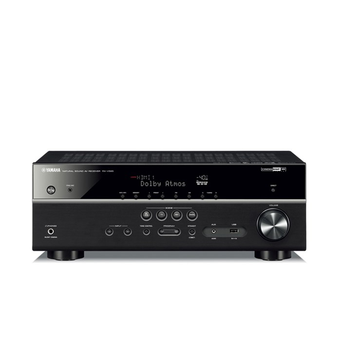 Yamaha RX-V585 7.2 Channel Network AV Receiver