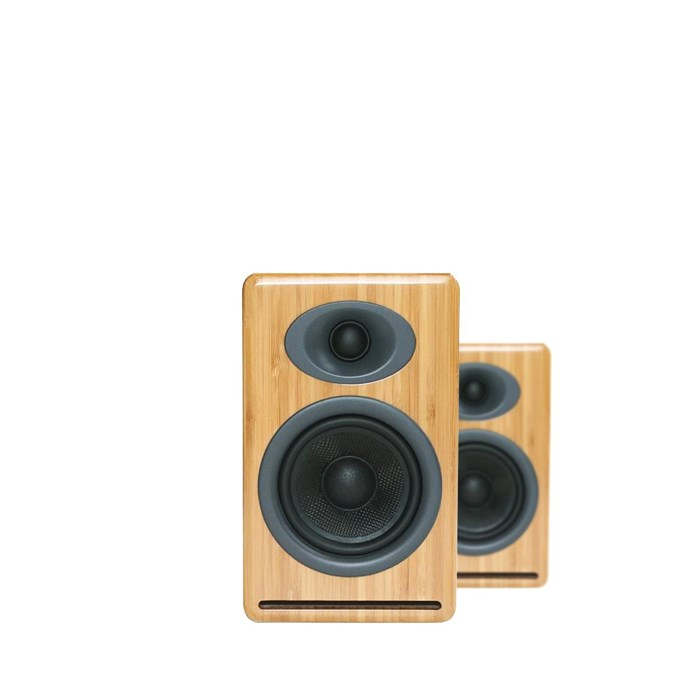 Audioengine P4 Passive Speakers - Bamboo