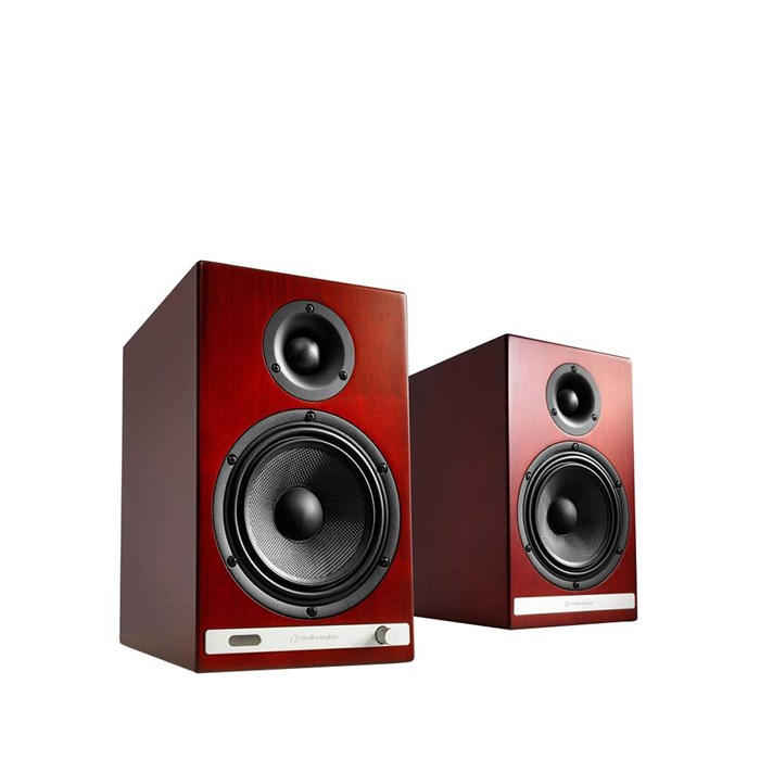 Audioengine HD6 Wireless Speakers - Cherry