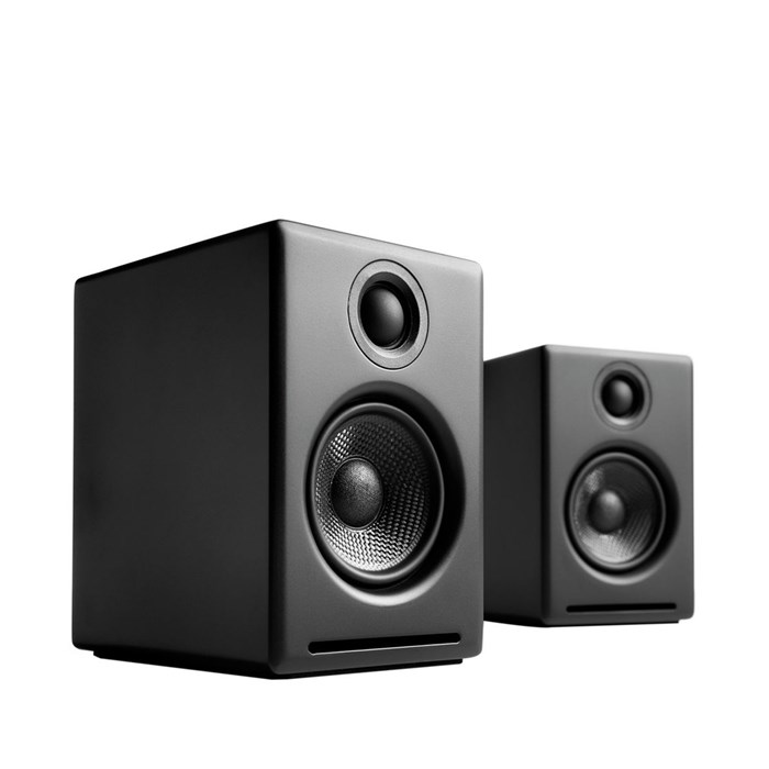 Audioengine A2+BT Wireless Speakers - Satin Black