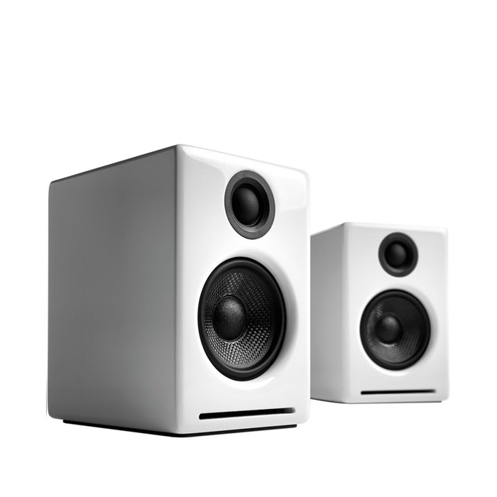 Audioengine A2+BT Wireless Speakers - Gloss White
