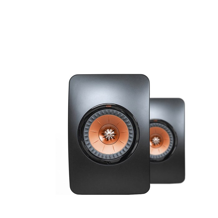 KEF LS50 Nearfield Monitors - Black